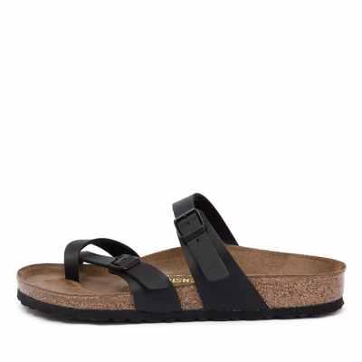 Birkenstock Mayari Black Sandals Womens Shoes Casual Sandals Flat Sandals