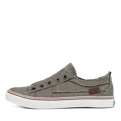 Blowfish Play Bw Steel Grey Sneakers Womens Shoes Casual Casual Sneakers