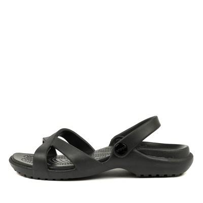 Crocs Meleen Crossband Sandal W Black Sandals