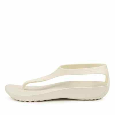 Crocs Serena Flip W Oyster Oyster Sandals