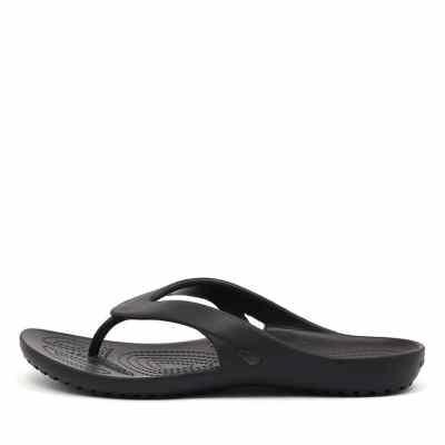 Crocs Kadee Ii Flip Black Sandals