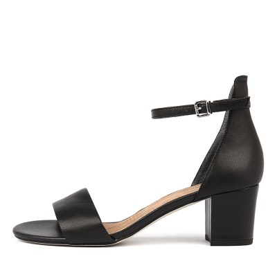 Diana Ferrari Soco Black Sandals