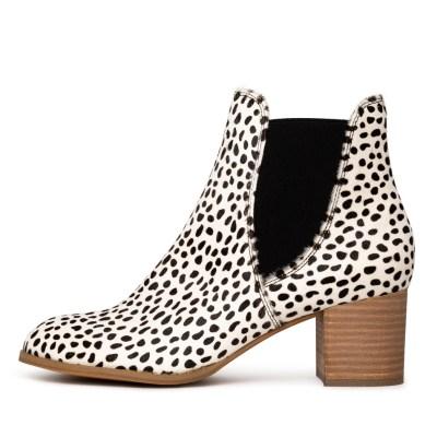 Django & Juliette Sadore White & Black Boots