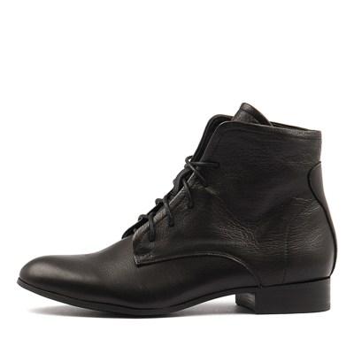 Django & Juliette Frans Black Boots