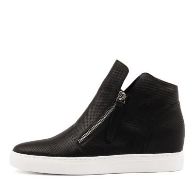 Django & Juliette Gisele Black Sneakers