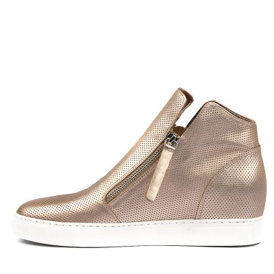 Django & Juliette Gisele Rose Gold Sneakers