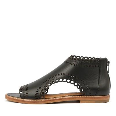 Django & Juliette Natalyas Black Sandals