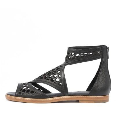 Django & Juliette Noreta Black Sandals