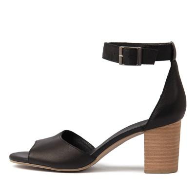 Django & Juliette Sherwin Black Sandals