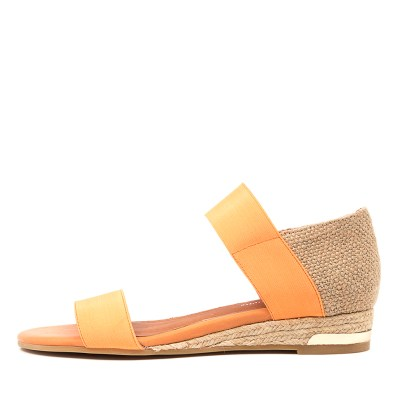 Django & Juliette Cicero Dj Orange Hessian Sandals