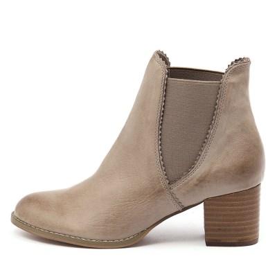 Django & Juliette Sadore Taupe Boots