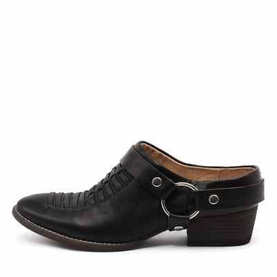 Django & Juliette Liita Black Shoes