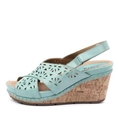 Earth Aries Turquoise Sandals