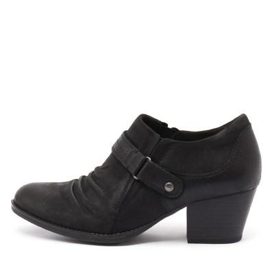 Earth Angel Black Shoes