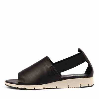 Effegie Aeris W Black Sandals