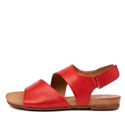 Eos Larnie W Eo Red Sandals