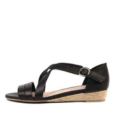 Gamins Candes Black Sandals