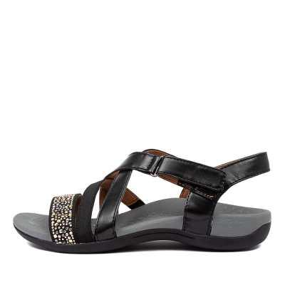 Scholl Altair Hs Black Sandals