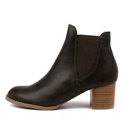 I Love Billy Jalises Olive Boots