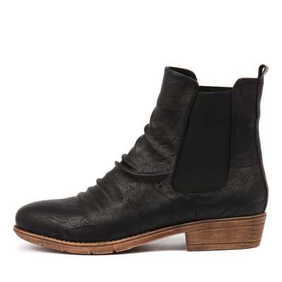 I Love Billy Rufuser Black Boots