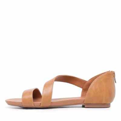 I Love Billy Sarran Tan Sandals