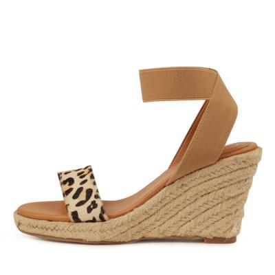 I Love Billy Wilfred Ocelot Tan Sandals