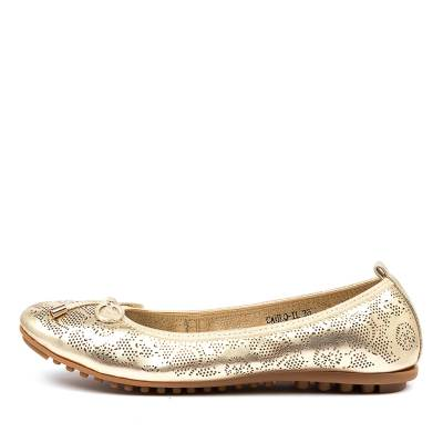 I Love Billy Cahlo Il Pale Gold Shoes