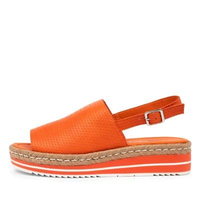 I Love Billy Amai Il Orange Chain Sandals