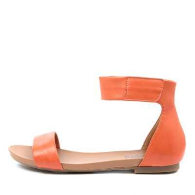 I Love Billy Shomas Il Orange Sandals Womens Shoes Casual Sandals Flat Sandals
