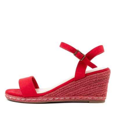 Ko Fashion Arielle W Kf Red Sandals
