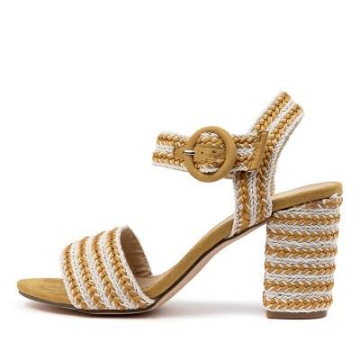 Ko Fashion Tropicola W Kf Yellow Sandals