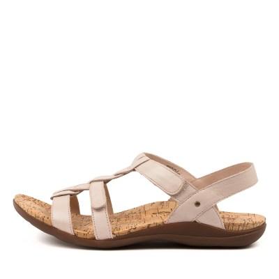 Kumfs Monte Km Nude Sandals Womens Shoes Sandals Flat Sandals
