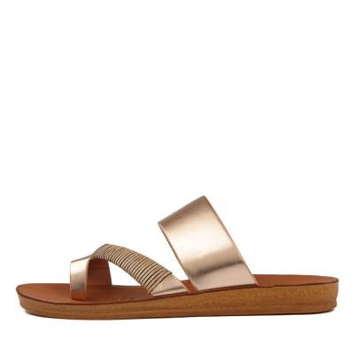 Los Cabos Bri W Rose Gold Sandals