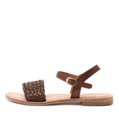 Maria Rossi Ebony Ma Vacch Tan Sandals
