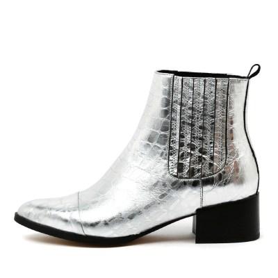 Mollini Daquri Silver Boots