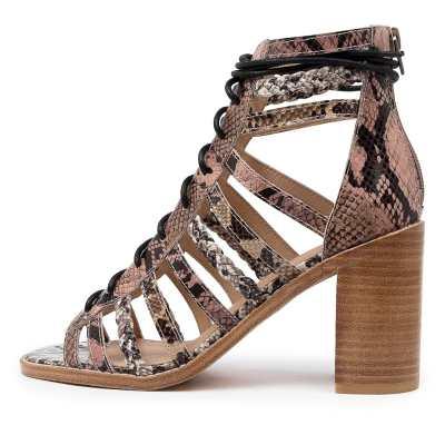 Mollini Jiji Mo Snake Multi Sandals