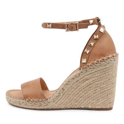 Mollini Edwina Tomo Tan Sandals Womens Shoes Casual Heeled Sandals