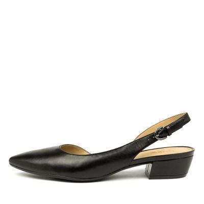 Naturalizer Banks Na Black Shoes Womens Shoes Dress Heeled Shoes