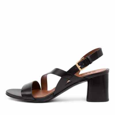 Naturalizer Arianna Na Black Sandals
