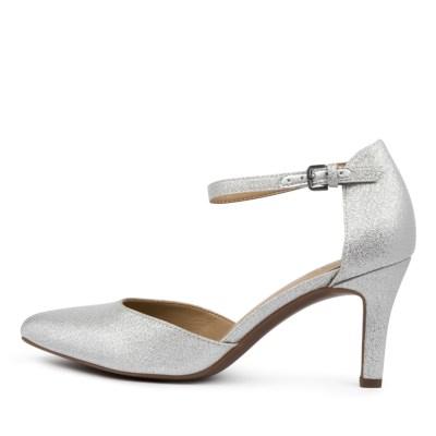 Naturalizer Emilie Na Silver Glitter Shoes