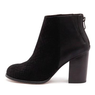Nude Grand Nu Black Boots
