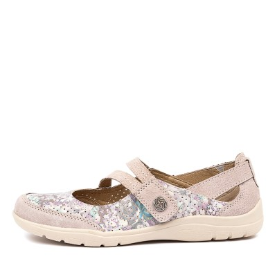 Planet Indulge Silver Multi Shoes