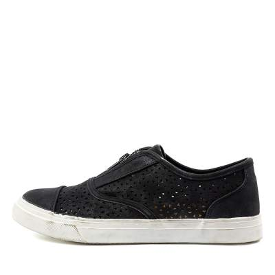 Planet Daisy2 Pl Black Sneakers