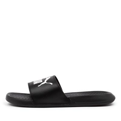 Puma Popcat Pm Black Black White Sandals