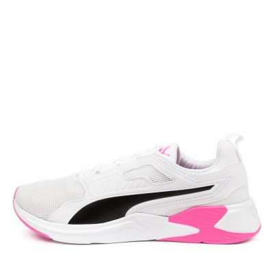 Puma 193744 Disperse Xt Pm White Pink Sneakers Womens Shoes Active Active Sneakers