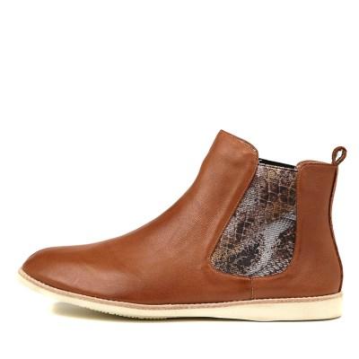 Silent D Nearly Cognac Russet S Boots