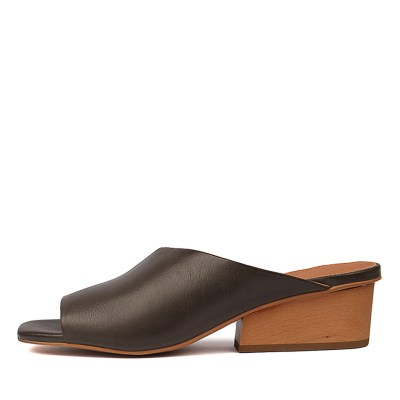 Silent D Theo Olive Sandals
