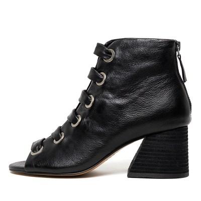 Silent D Jamal Black Boots