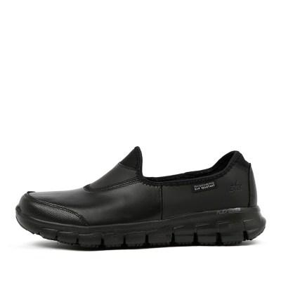 Skechers 76536 Sure Track Black Sneakers