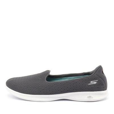 Skechers 14468 Go Step Lite Origin Charcoal Sneakers Womens Shoes Casual Casual Sneakers